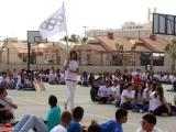 El atleta Juanma Molina inaugura las III Juegos Olímpicos del IES Dos Mares